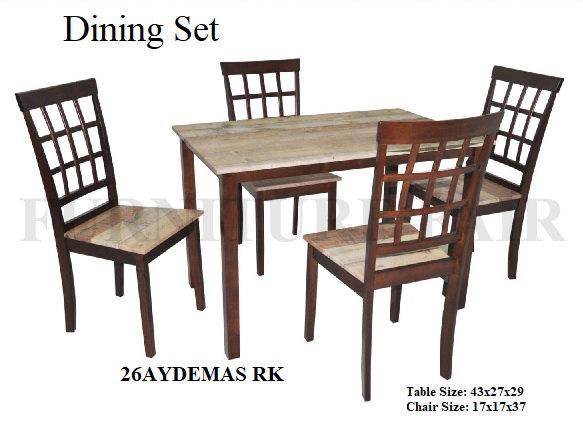 Dining Set 26AYDEMAS RK
