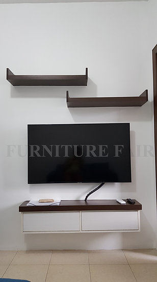 Entertainment Cabinet with Shelf (Made to Order)