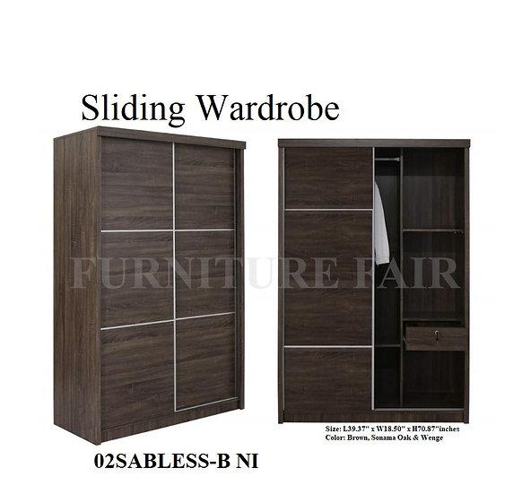 Sliding Wardrobe 02SABLESS-B NI