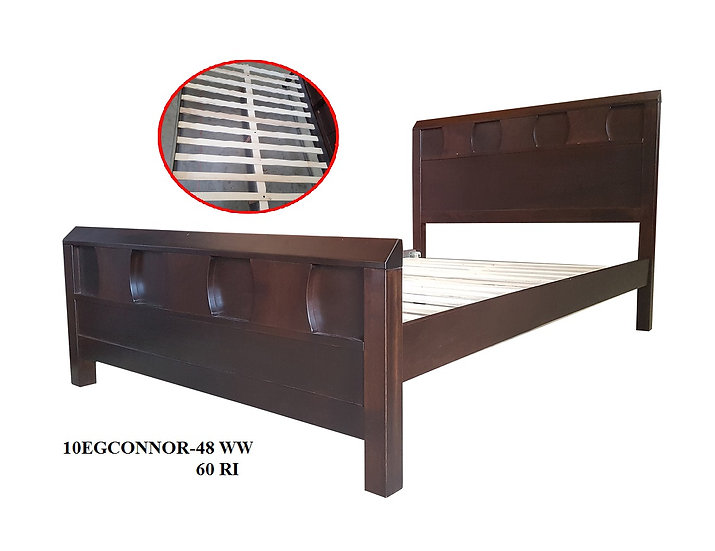 Wooden Bed Frame Double Size 10EGCONNOR