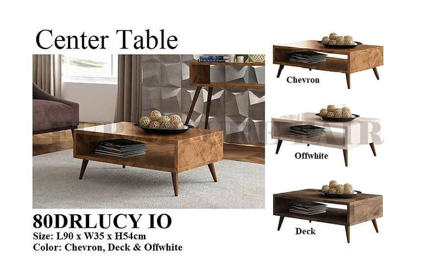 Center Table 80DRLUCY IO