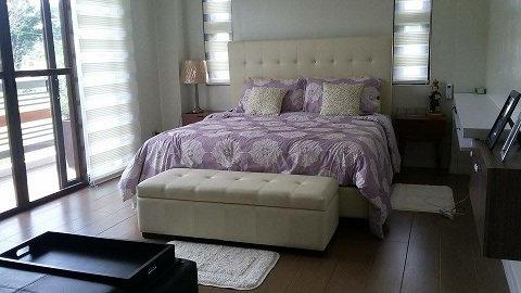 Upholstered Bed Frame (made-to-order)