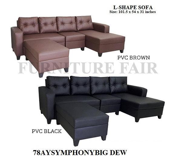 L-Shape Set 78AYSYMPHONY-L DEW