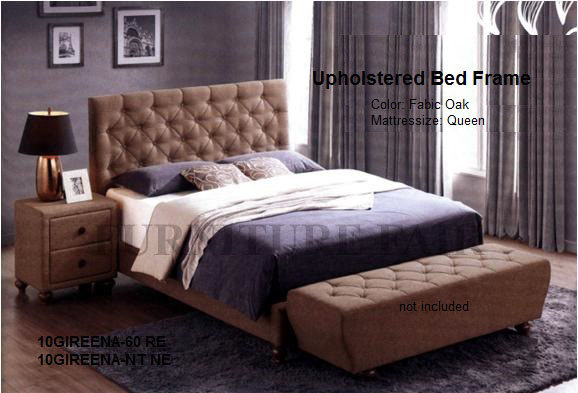 Upholstered Bed Frame 10GIREENA-60_RE
