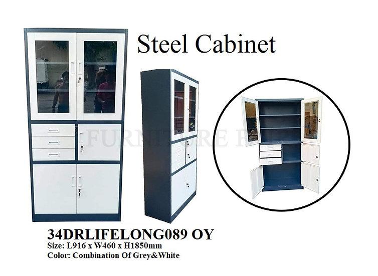 Steel Cabinet 34DRLIFELONG089 OY