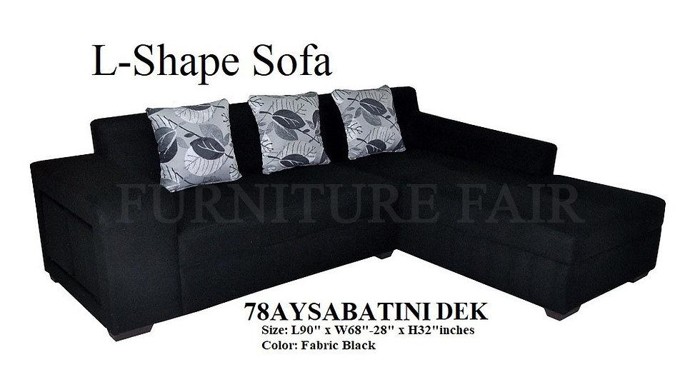 L-Shape Sofa 78AYSABATINI DEK