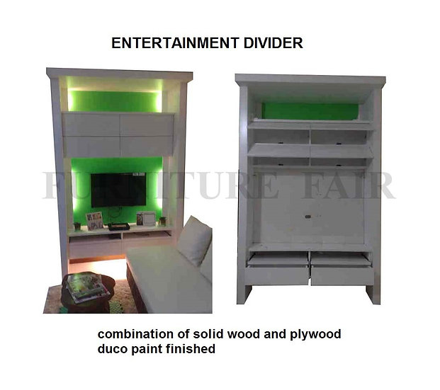TV Entertainment Divider (made-to-order)