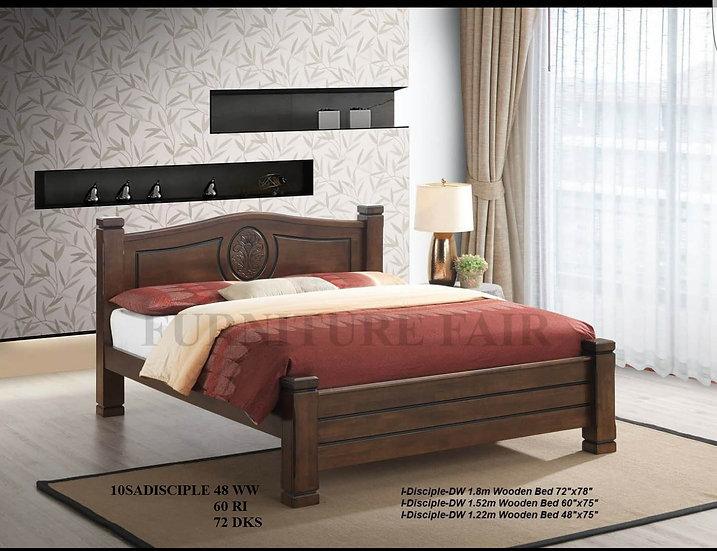 Wooden Bedframe 10SADISCIPLE 48WW 60RI 72DKS