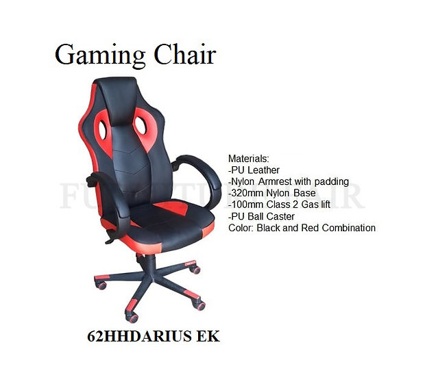 Gaming Chair 66HHDARIUS EK