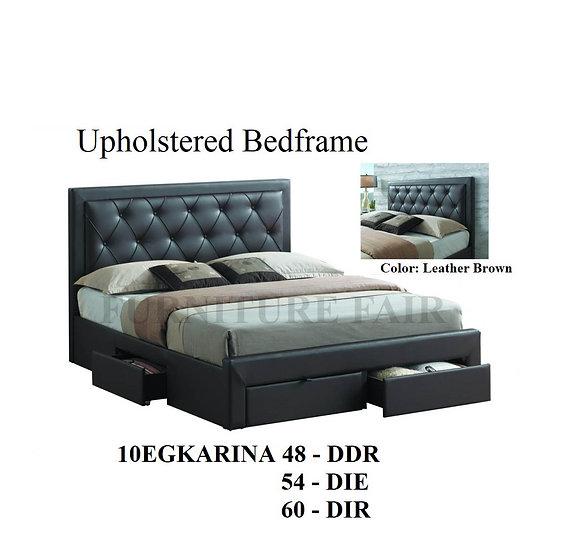 Upholstered Bedframe 10EGKARINA 48 DDR