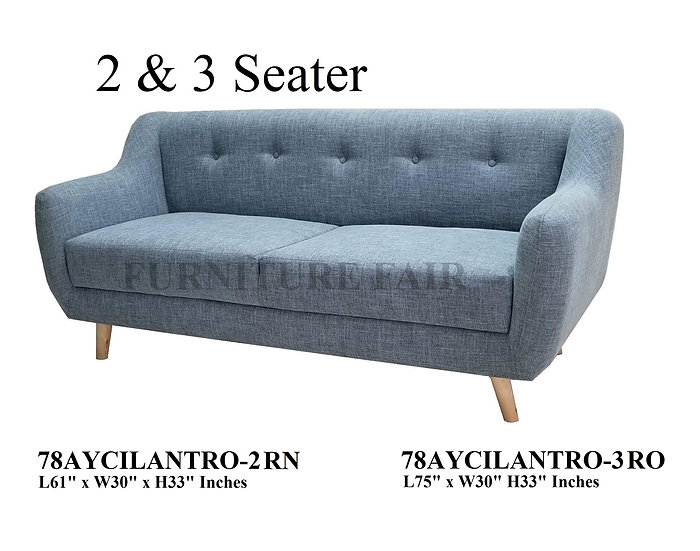 2 & 3 Seater Sofa 78AYCILANTRO-2 RN 3-RO