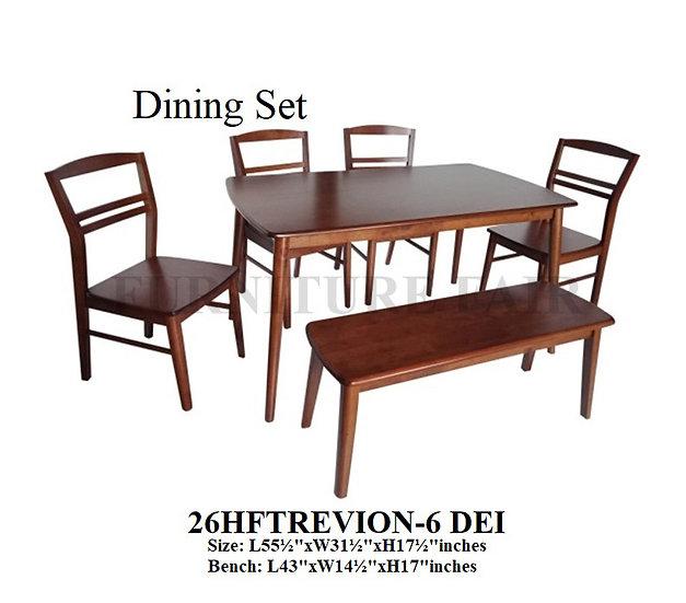 Dining Set 26HFTREVION-6 DEI