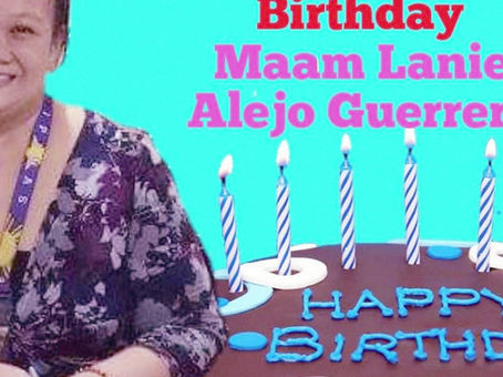 Happy Birthday Ma'am Lanie 2k19
