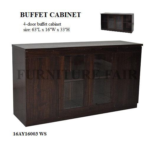 Buffet Cabinet 16AY16003 WS