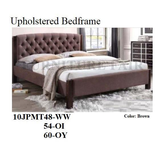 Upholstered Bedframe 10JPMT48WW 54OI 60OY
