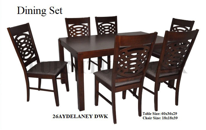 Dining Set 26AYDELANEY DWK