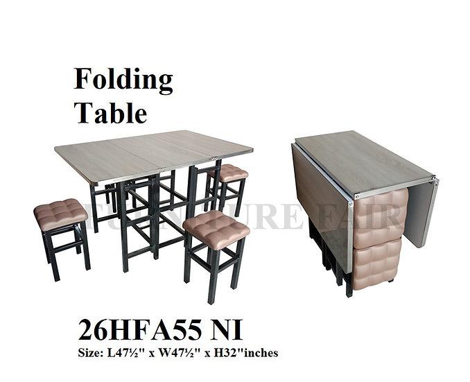 Folding Dining Set 26HFA55 NI