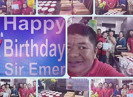 Happy Birthday Sir Emer!