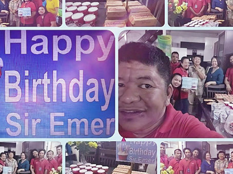 Happy Birthday Sir Emer!