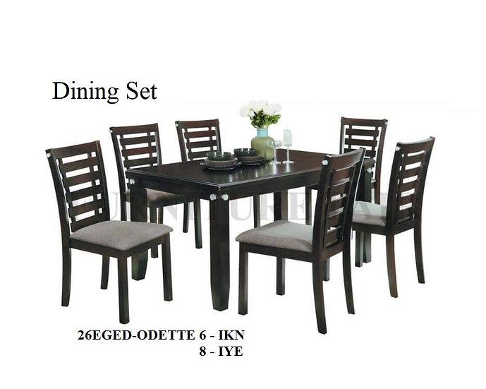 Dining Set 26EGED-ODETTE