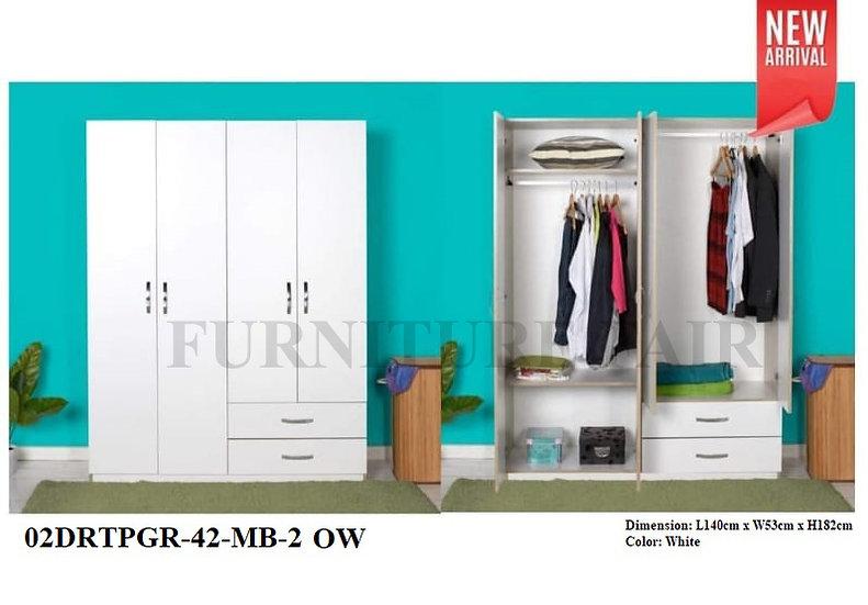 Wardrobe 02EG42-WHT OW