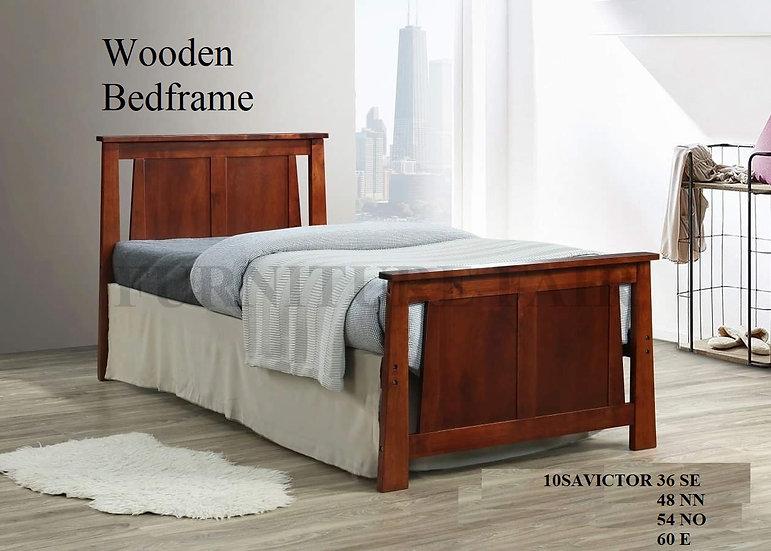 Wooden Bedframe 10SAVICTOR 36SE 48NN 54NO 60EK