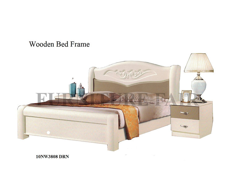 Wooden Bed Frame 10NW3808 DRN