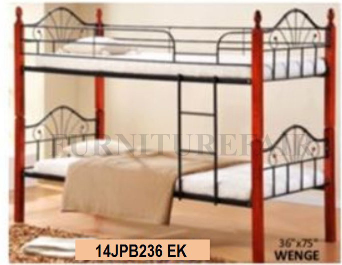 Wooden Post Double Deck 14JPB236 EK