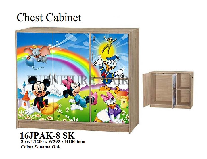 Children Cabinet 16JPAK-8 SK