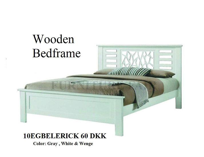 Wooden Bedframe 10EGBELERICK 60 DKK