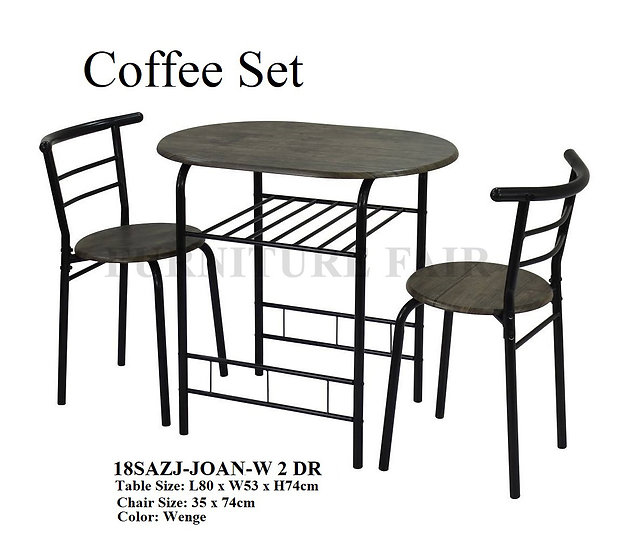 Coffee Set 18SAZJ-JOAN-W 2 DR