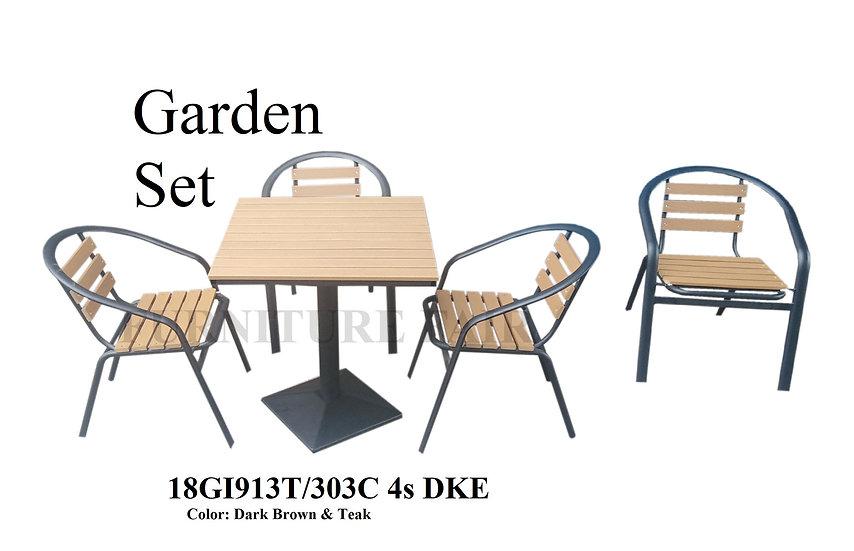 Garden Set 18GI913T-303C 4s DKE