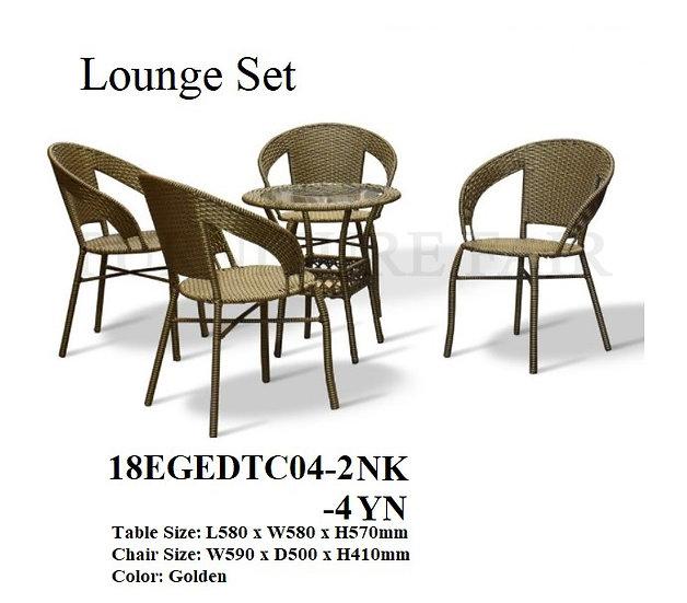Lounge Set 18EGEDTC04-2NK 4-YN