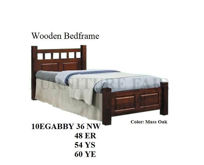 Wooden Bedframe 10EGABBY