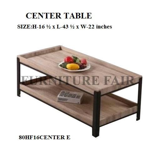 CENTER TABLE 80HF16CENTER E