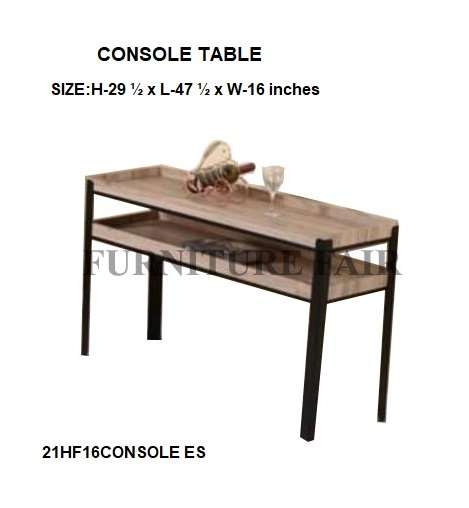 CONSOLE TABLE 21HF16CONSOLE ES