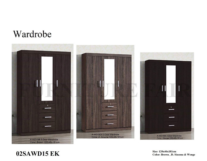 Wardrobe 02SAWD15 EK