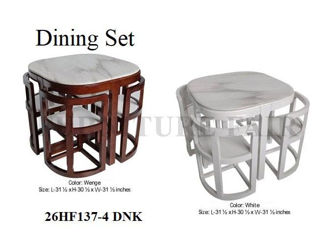 Dining Set 26HF137-4 DNK