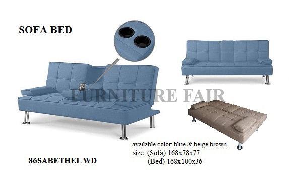 Sofa Bed 86SABETHEL WD