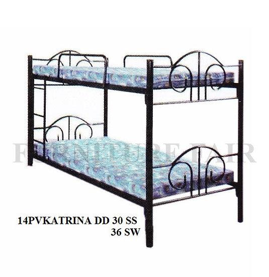 Steel Double Deck 14PVKATRINA DD 30SS 36SW