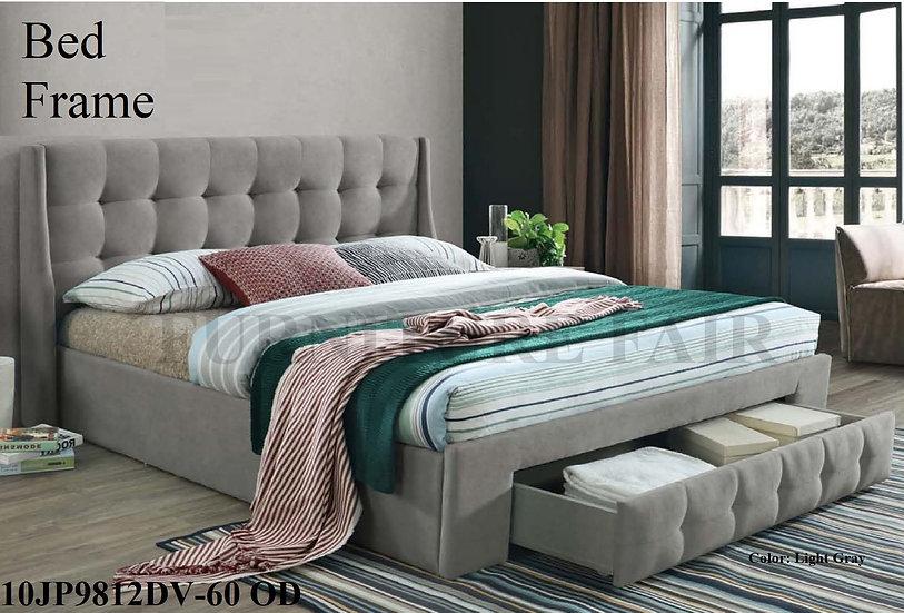 Upholstered Bedframe 10JP9812DV-60 OD
