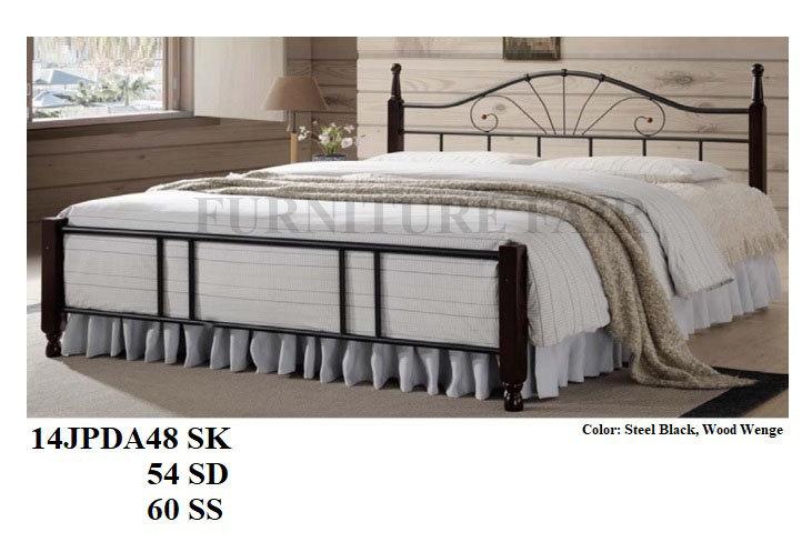 Wooden Post Bed 14JPDA48SK 54SD 60SS