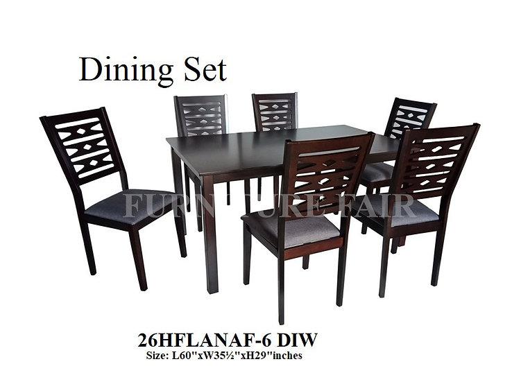 Dining Set 26HFLANAF-6 DIW