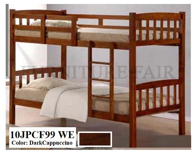 Wooden Double Deck 10JPCF99 WE