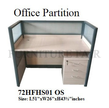 Office Partition 72HFHS01 OS