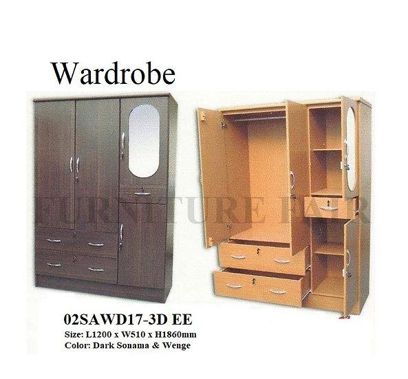Wardrobe 02SAWD17-3D EE