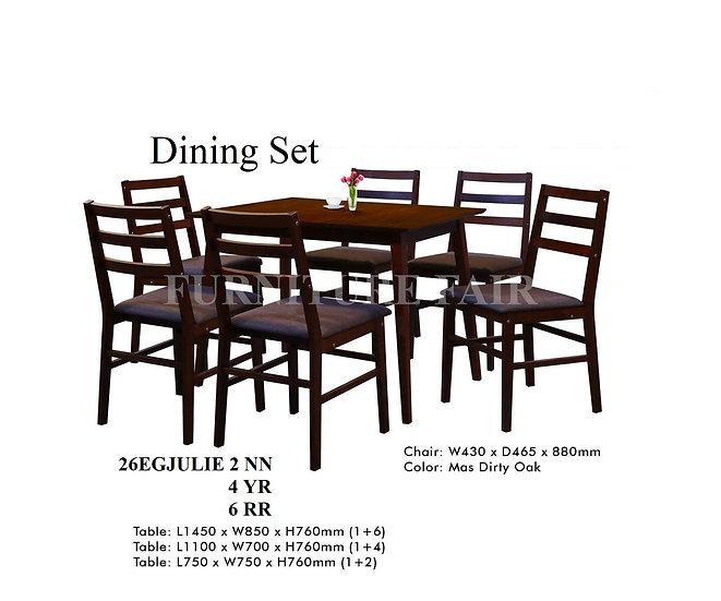 Dining Set 26EGJULIE