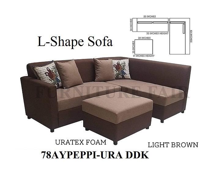 L-Shape Sofa 78AYPEPPI-URA DDK