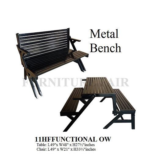 Metal Bench 11HFFUNCTIONAL OW