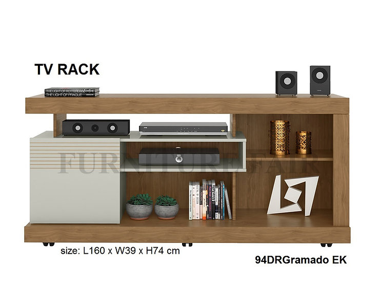 Tv Rack 94DRGRAMADO ER